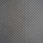 Jersey taupe mit weißen Punkten ca. 5mm