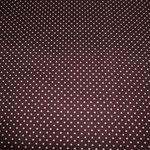 dunkelbraun mit weißen Punkten ca. 2mm