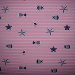 Jersey Seesterne rosa