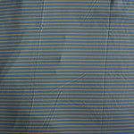 Jersey hellblau hellgrün gestreift