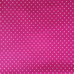 Jersey pink mit weißen Punkten ca. 2mm