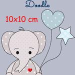 Elefant 2 (mit Ballons)