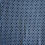 Jersey hellblau mit blauen Punkten ca. 6mm