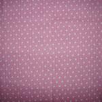 rosa mit weißen Sternen ca. 10mm