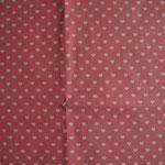 rosa (dunkel) mit weißen Herzen ca. 6mm