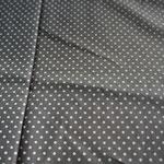 grau mit weißen Punkten ca. 2mm