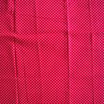 pink mit weißen Punkten ca. 2mm