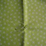 grün mit weißen Schleifen ca. 10mm