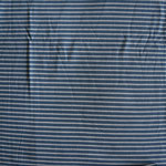 Jersey hellblau weiß gestreift