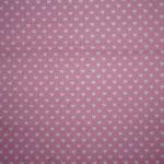 rosa mit weißen Herzen ca. 6mm RESTSTÜCK - bitte anfragen