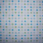 Sterne blau/grün ca. 15mm RESTSTÜCK - bitte anfragen!!!