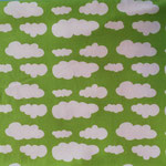 Jersey Wolken lime