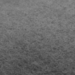 BIO Baumwollfleece dunkelgrau