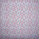 Miniherzchen pink/türkis ca. 5mm RESTSTÜCK - bitte anfragen