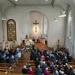 Umrahmung des Gottesdienstes