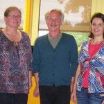 Frau Zipperer, Herr Dr. Kürth, Frau Kiefer