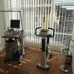 EKG- und Ergometrieanlage