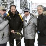 Till Demtroeder, Wolfgang Suitner, Wolf-Dieter Polz und Karsten Speck