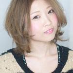2014秋冬スタイル ヘルシーカラーでツヤと柔らかさを際立たせて hair make photo 望月堅造