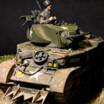 Tamiya M5A1 US Light Tank - 1:35