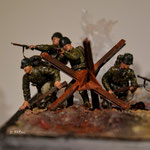 Master Box DDay - Omaha Beach 1:35