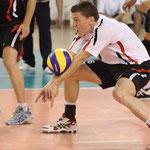 Abnahme unten: Kontaktzone mit Ball