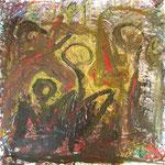 Delirium, 100 x 100 cm, 2005