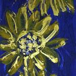 Sunflowers unfolded, 120 x 40cm
