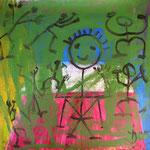 Me Me Me, 100 x 100cm, 2005