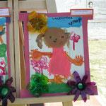 16 Valentina Moyano- Nena con flores-cartón