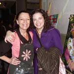 Adriana Gutierrez - agatadeargentina con Carolina Ferrari