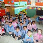 Los pequeños artistas de 5 años