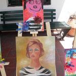 23 Joaquín De Mitri- Mujer cebra- madera ( Una excelente versión de mi obra)