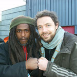 avec David Hinds (Steel Pulse)