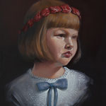 THE MEAT CROWN NO.2 • 30x24 CM • OIL ON BOARD • 2014 • PRIVATE COLLECTION