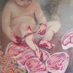 THE EXPERIENCE • 120x100 CM • OIL ON CANVAS • 2011