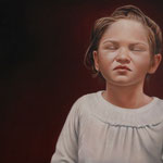 BLOOD RED • 140x100 CM • OIL ON CANVAS • 2013 • PRIVATE COLLECTION