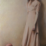 THE MIDWIFE NO.1 • 220x130 CM • OIL ON CANVAS • 2020
