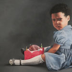 YOUNG BLOOD RITUAL NO.1 • 140x100 CM • OIL ON CANVAS • 2013 • PRIVATE COLLECTION