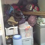Das gesamte Zeltmaterial, Küche und das Gepäck der Teilnehmer!!!