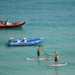 Flaute bei der Surf WM