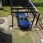 der erste Parkversuch