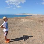 Blick auf die Costa Calma