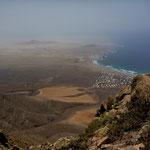Blick auf Famara