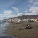 am Strand von Gran Tarajal
