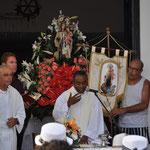 Gottesdienst zu Ehren der Schutzpatronin Carmen