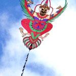 Der Vogelgott Garuda wacht über den Strand