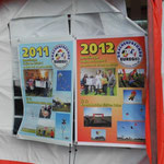 ... wir sind gespannt, was für 2013 auf dem Plakat steht.