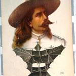 Ein Original Plakat von Samuel Franklin Cody aus dem Jahr 1906