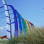 Strand - Wind - Fahnen